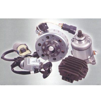 materiale elettrico - motorini, regolatori, statori,bobine, relais, quadri avviamento -