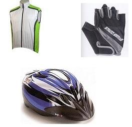 abbigliamento ciclo, caschi, borse, computer